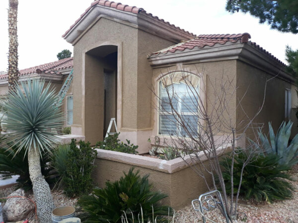 Before Exterior Paint Job in Las Vegas Nevada