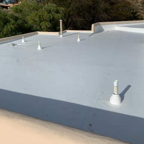 Flat roof by Weatherguard Construction