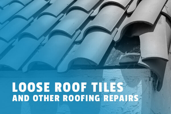 Loose Roof Tiles, Las Vegas Roofing Repair