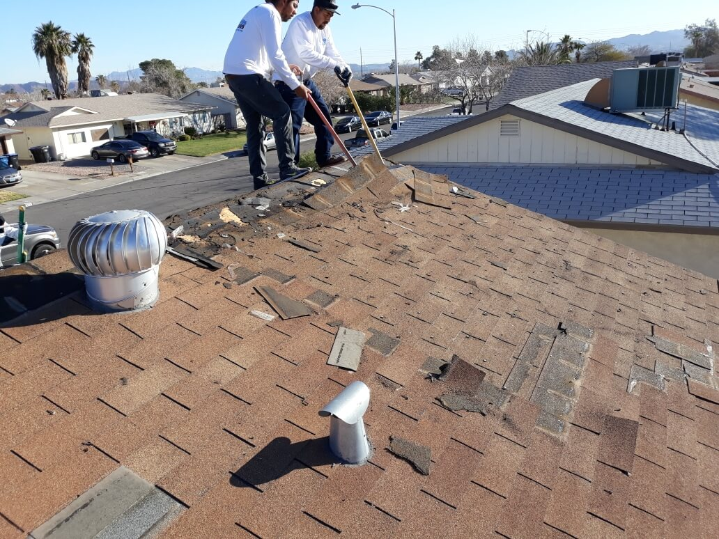 Roofing repair in las vegas